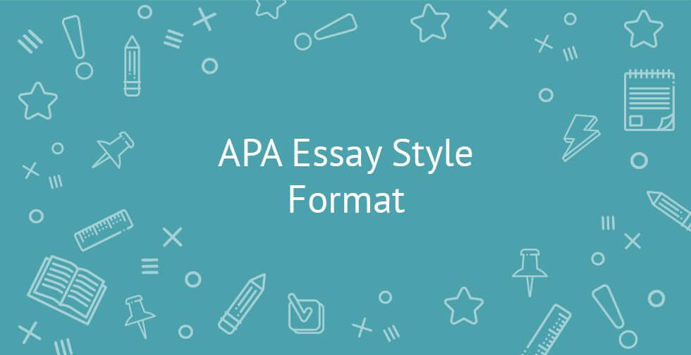 Apa style for essays