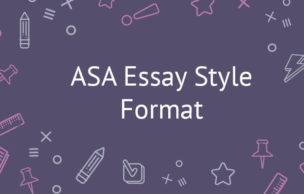 ASA Essay Style Format