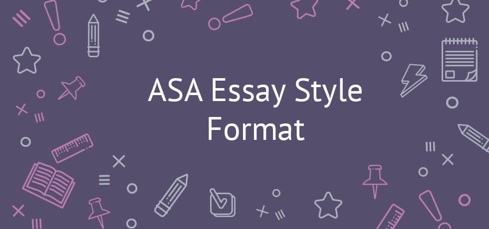 Essay Writing Business Asa Essay Style Format Asa Style Paper English Sample Essay also Narrative Essay Examples High School Explicit Asa Style Essay Guidelines Thesis Statement For An Argumentative Essay