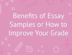 benefits of essay samples