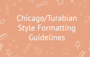 Chicago/Turabian Style Formatting Guidelines