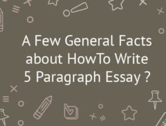 how to write 5 paragraph essay