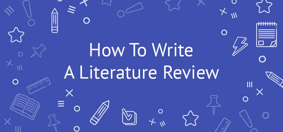 comment rédiger une revue de littérature