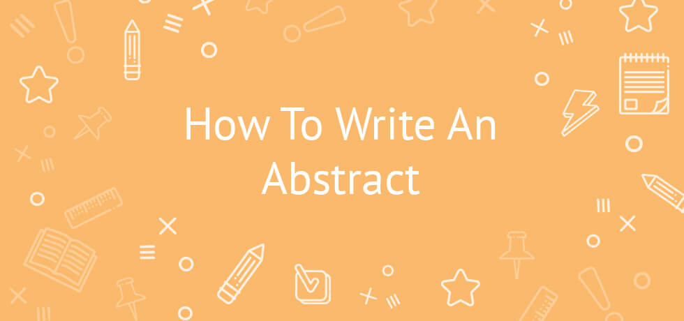 Writing an abstract for a paper