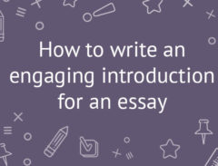 introduction for an essay