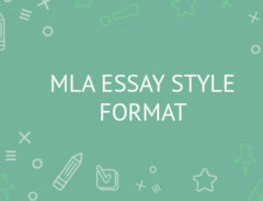 mla style paper
