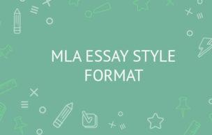 MLA ESSAY STYLE FORMAT