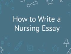 nursing essay