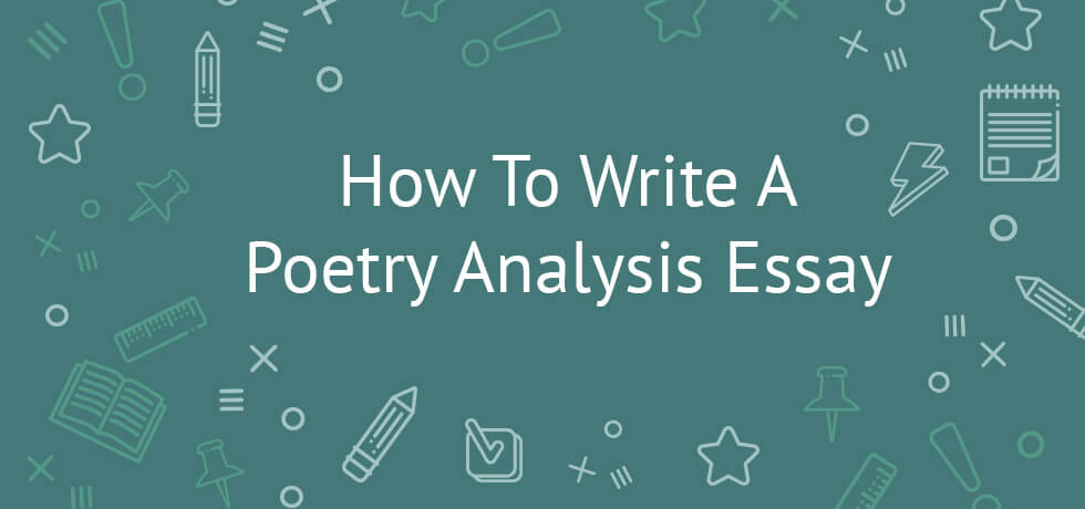 How to write a poetry essay