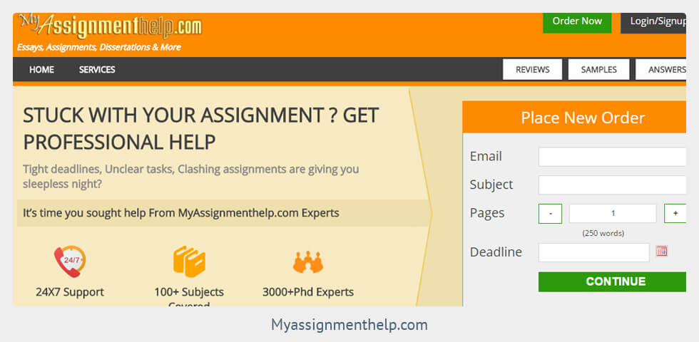 My assignment help uk review