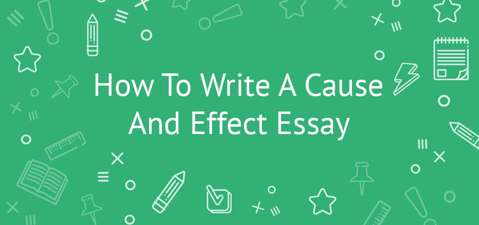how to write a cause and effect paper Types of papers: cause & effect to write a cause and effect essay, you'll need to determine a scenario in which one action or event caused certain effects to occur  then, explain what took place and why.