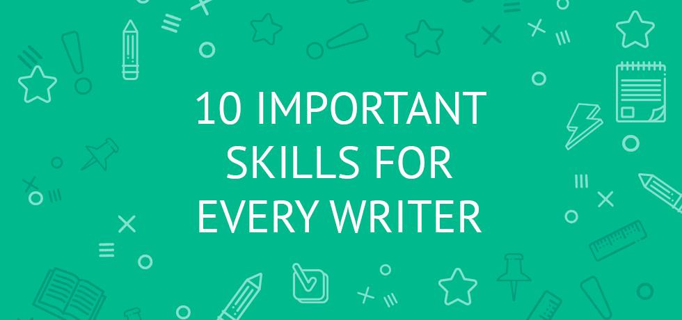 skills for writer