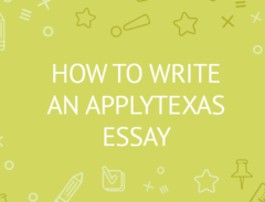 how to write an applytexas essay/