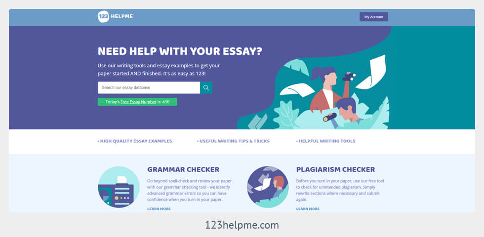 123help com 123helpmecom displays advertisments in which lead the reader to believe that their business is a solution for the person that is looking for a completed, high quality essay, or paper in essence, the website represents itself as being worthy of actually delivering a completed essay.