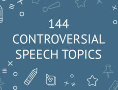 144 controversial speech topics