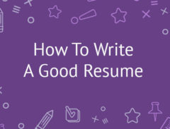 How-To-Write-A-Good-Resume