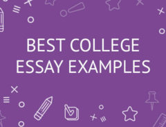 best college essay examples