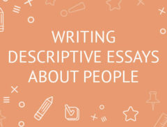 descriptive essay about a person