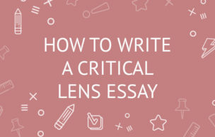 How to Write a Critical Lens Essay