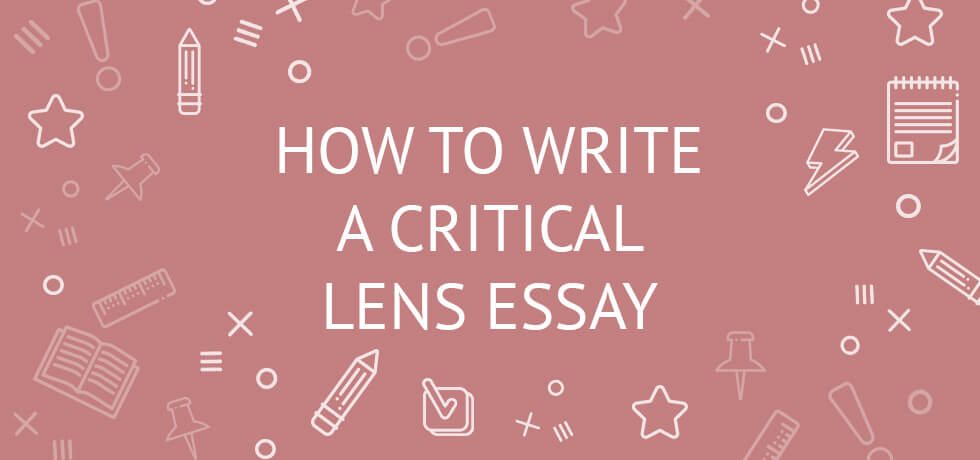 how to write a lens essay