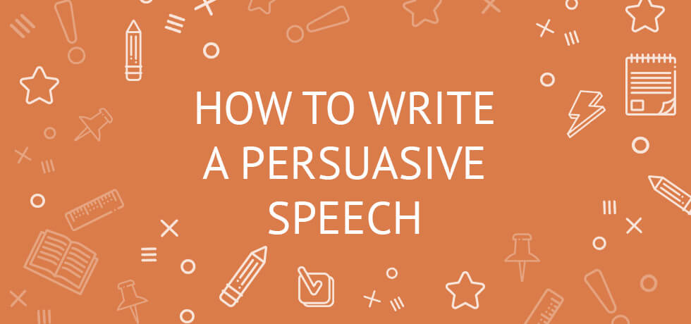 how do you write a persuasive speech Do you need help writing a persuasive speech our services are designed to  assist you our speech writers are professionals and have gained the experience .