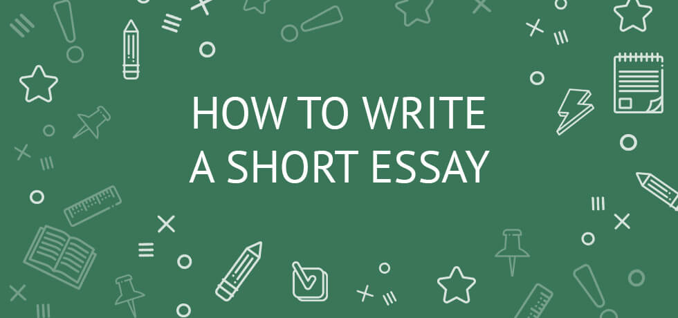 Writing a short essay