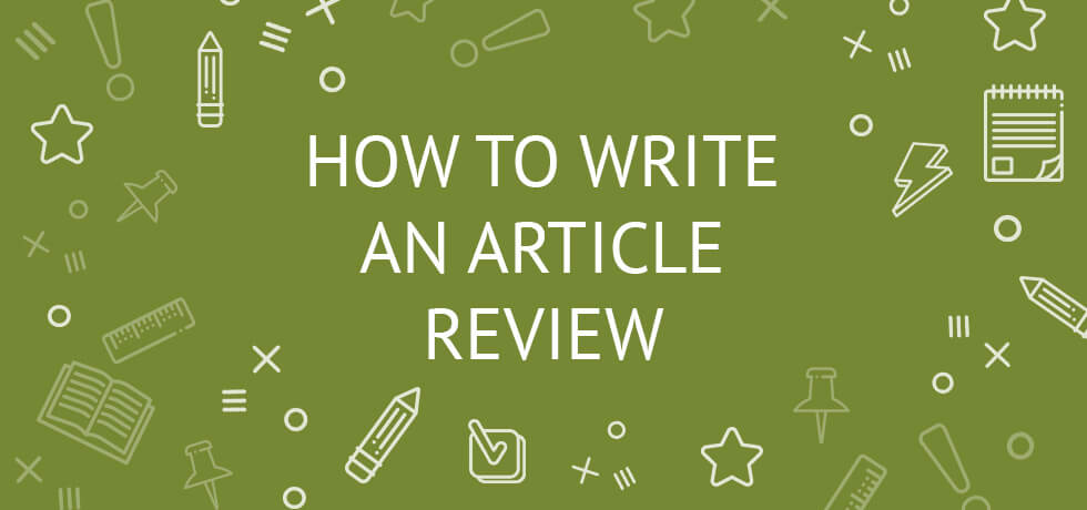 Do good article review