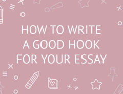 how to write an essay hook