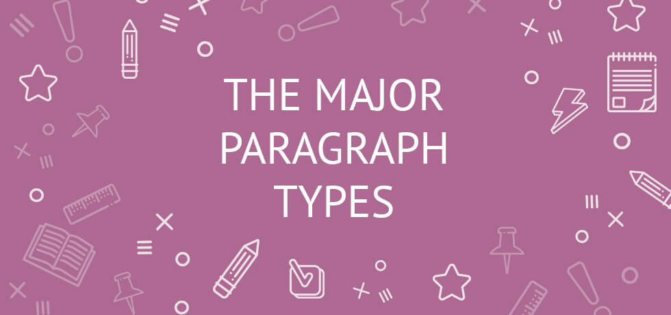 kinds of paragraph and their meaning