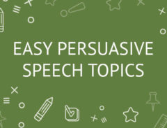 452 Good Persuasive Speech Topics For College Students