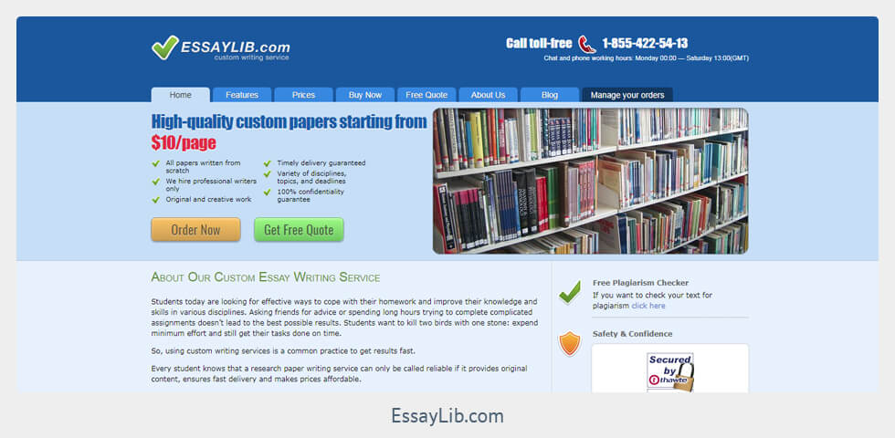 essaylib com reviews