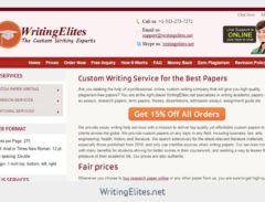 writingelites.net review