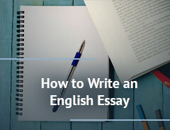 how to write an english essay
