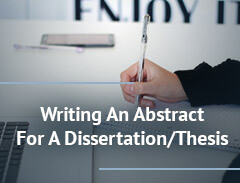 dissertation methodology writing