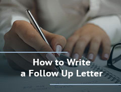 how to write a follow up letter