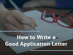How to Write a Good Application Letter