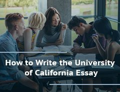 how to write the university of california essay