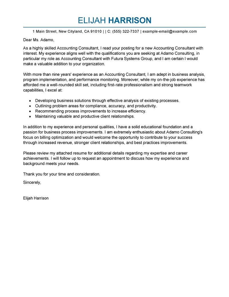 Nice Accounting U0026 Finance Cover Letter Examples U0026 Templates