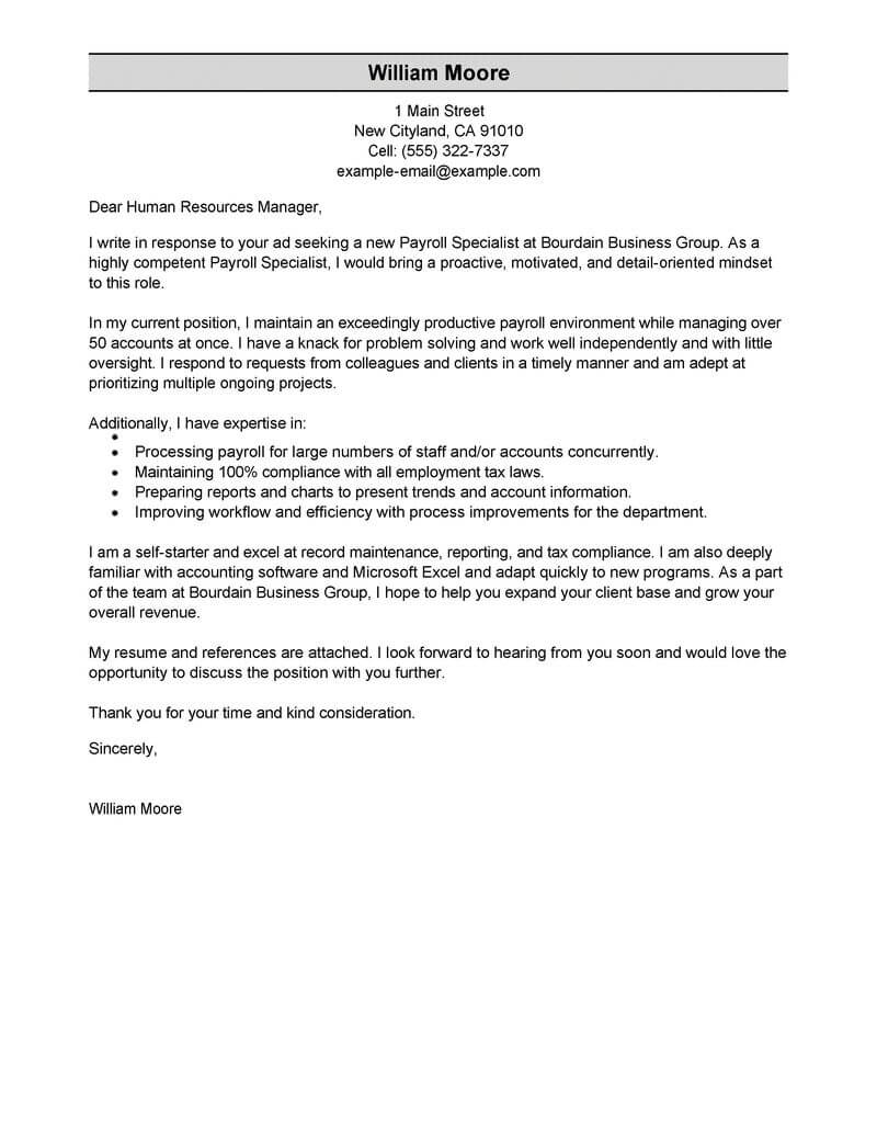 unsolicited application letter for fresh graduate of