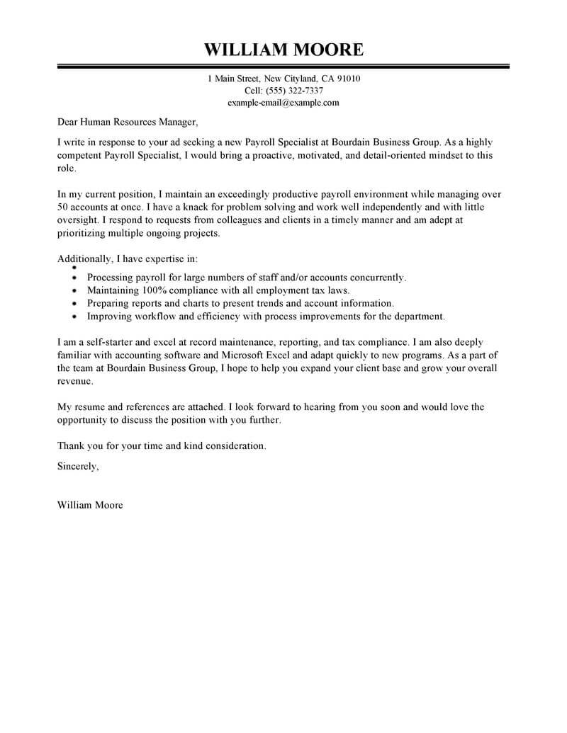 amazing accounting  u0026 finance cover letter examples