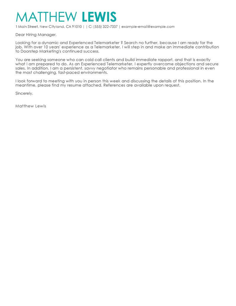 Amazing Administrative Cover Letter Examples & Templates from Trust ...