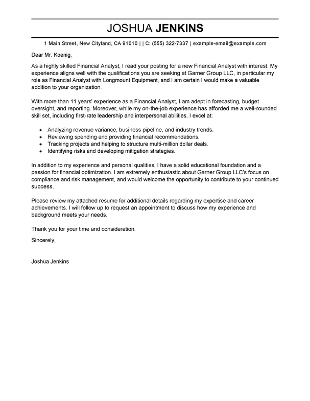 Free Business Analyst Cover Letter Examples & Templates from ...