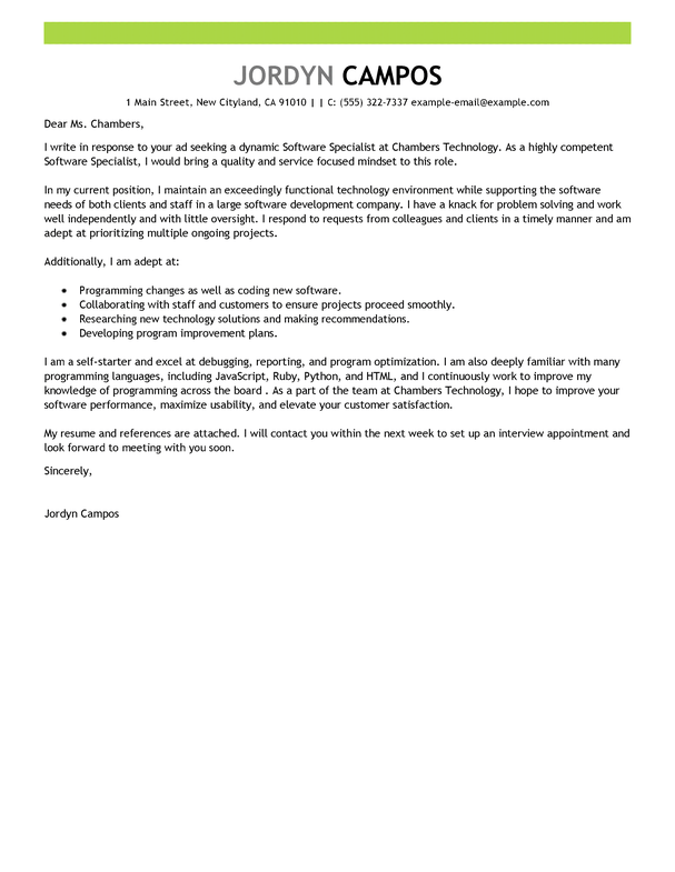 Social Media Specialist Cover Letter from eliteessaywriters.com