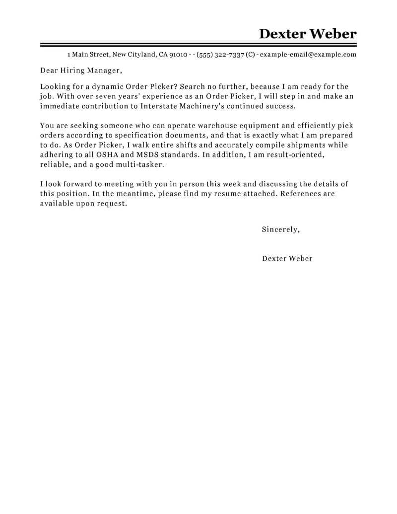 amazing government  u0026 military cover letter examples