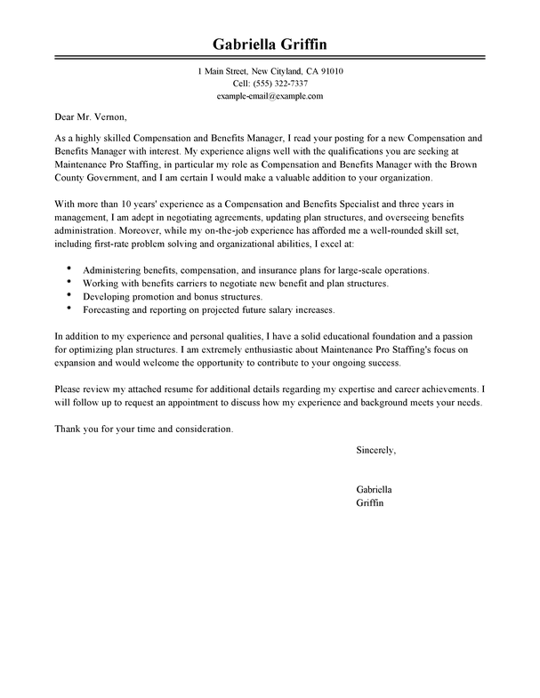 Amazing Human Resources Cover Letter Examples Templates From