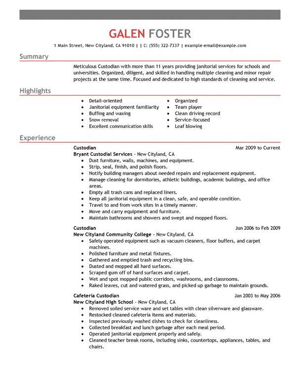 outstanding cleaning professionals cover letter examples