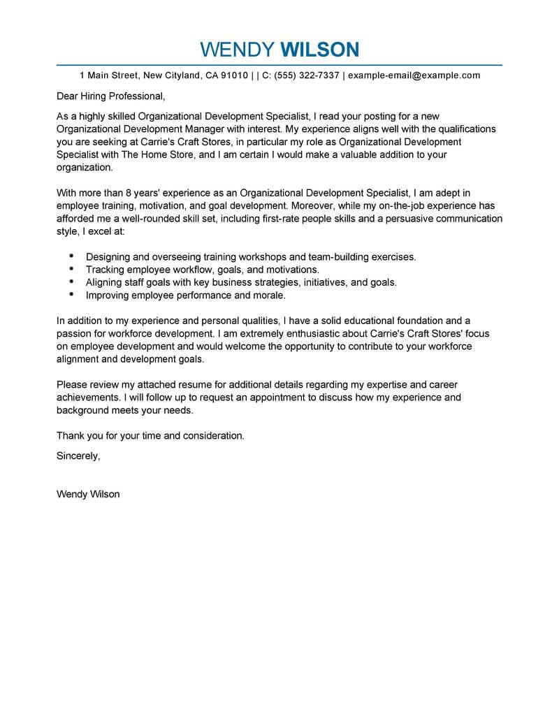 amazing shift leader cover letter examples  u0026 templates from our writing service