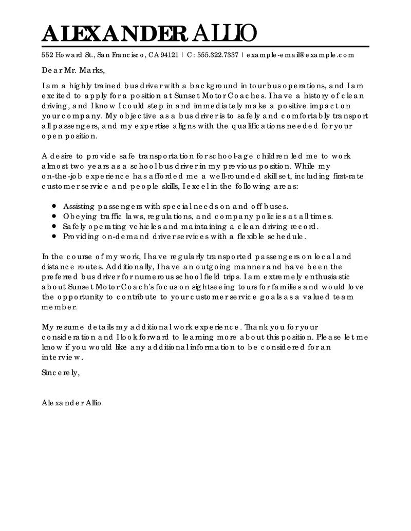 Essay complaint about bus service
