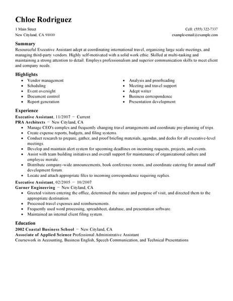5afaebe2843e9 Sample Administrative Istant Resume Format on medical office, clerical office, assistant highlight,