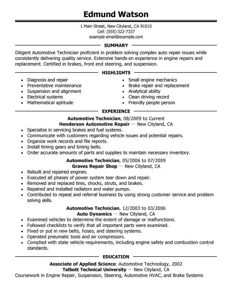 Technology executive resume writing service